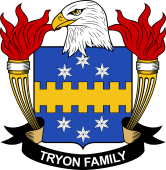 American Coat of Arms for Tryon