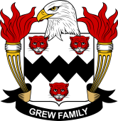 American Coat of Arms for Grew