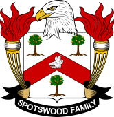 American Coat of Arms for Spotswood
