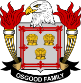 American Coat of Arms for Osgood