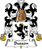 Coat of Arms from France for Busson