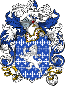English or Welsh Coat of Arms for Kinnersley (Staffordshire and Shropshire)
