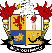 American Coat of Arms for McIntosh