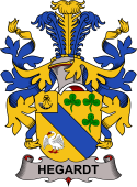 Swedish Coat of Arms for Hegardt