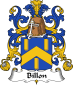 Coat of Arms from France for Billon