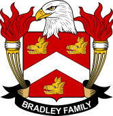 American Coat of Arms for Bradley