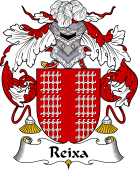 Portuguese Coat of Arms for Reixa