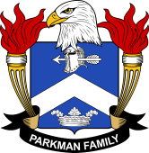 American Coat of Arms for Parkman