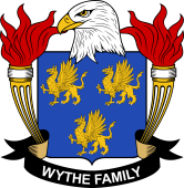 American Coat of Arms for Wythe