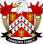 American Coat of Arms for Parsons