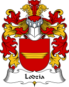 Polish Coat of Arms for Lodzia