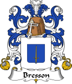 Coat of Arms from France for Bresson