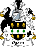 English Coat of Arms for Ogden