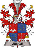 Danish Coat of Arms for Junge