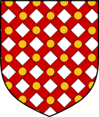 English Family Shield for Trussel