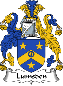 Scottish Coat of Arms for Lumsden