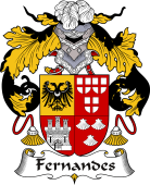 Portuguese Coat of Arms for Fernandes