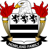American Coat of Arms for Howland