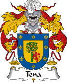 Spanish Coat of Arms for Tena