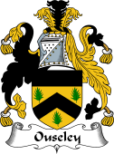 English Coat of Arms for Ouseley