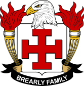 American Coat of Arms for Brearly