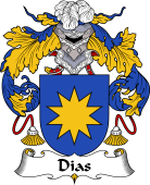 Portuguese Coat of Arms for Dias II