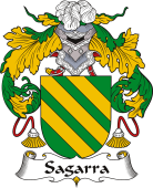 Spanish Coat of Arms for Sagarra