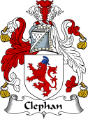 Scottish Coat of Arms for Clephan or Clephane