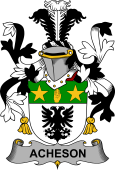 Irish Coat of Arms for Acheson