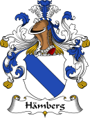 German Wappen Coat of Arms for Hämberg