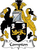 English Coat of Arms for Compton
