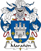 Spanish Coat of Arms for Marañón