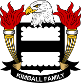 American Coat of Arms for Kimball