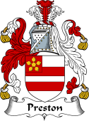 English Coat of Arms for Preston