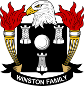 American Coat of Arms for Winston
