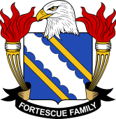 American Coat of Arms for Fortescue