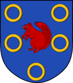 Dutch Coat of Arms shield for Dyk (Van) 2