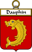 French Coat of Arms Badge for Dauphin