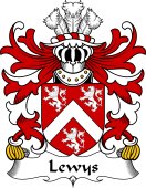 Welsh Coat of Arms for Lewys (of Bodedern, Llifon, Anglesey)