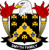 American Coat of Arms for Smyth