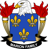 American Coat of Arms for Marion