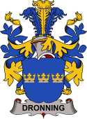 Danish Coat of Arms for Dronning