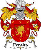 Portuguese Coat of Arms for Peralta