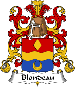 Coat of Arms from France for Blondeau