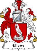 Scottish Coat of Arms for Elm or Ellem