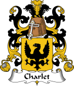 Coat of Arms from France for Charlet