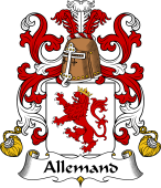 Coat of Arms from France for Allemand