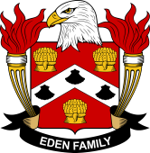 American Coat of Arms for Eden