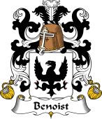 Coat of Arms from France for Benoist