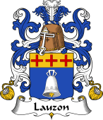 Coat of Arms from France for Lauzon